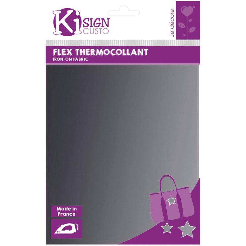 Flex thermocollant A5 - Argenté - Photo n°1