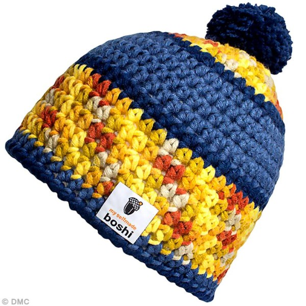 Laine à crocheter MyBoshi n°1 multicolore - 8 coloris - 50 gr - Photo n°2