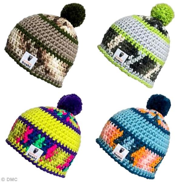 Laine à crocheter MyBoshi n°1 multicolore - 8 coloris - 50 gr - Photo n°3