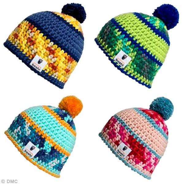 Laine à crocheter MyBoshi n°1 multicolore - 8 coloris - 50 gr - Photo n°4