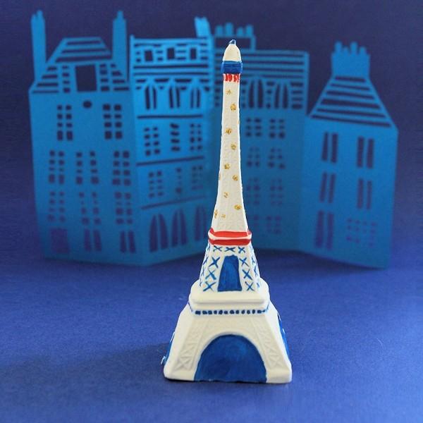 Coffret moulage en plâtre - Ma tour Eiffel - Mako moulages - 1 moule - Photo n°2
