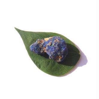 Pierre brute Azurite cristallisé grade