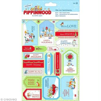 Stickers Noël - Christmas Pippinwood - 38 pcs