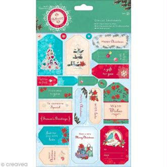 Stickers Noël - Bellissima Christmas - 38 pcs