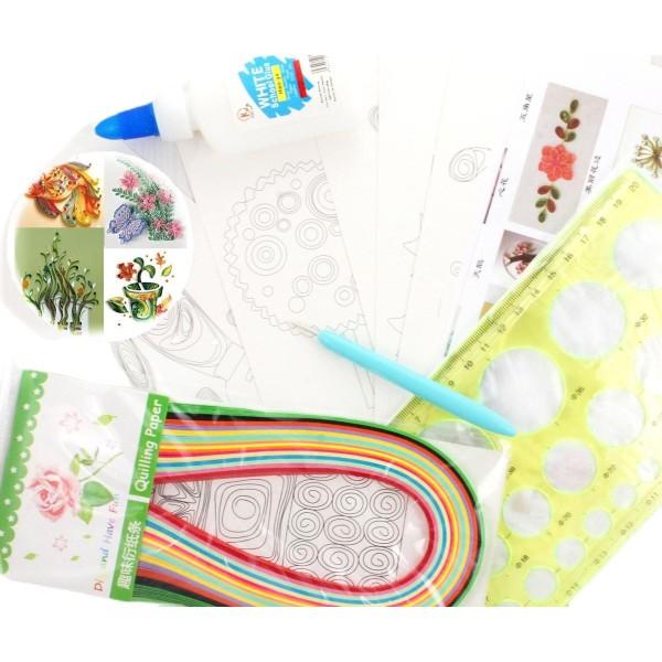 Paperolle Ensemble de Papier de BRICOLAGE Kit de 5 Projets de Tutoriels, d'un Modèle du Conseil, de - Photo n°1