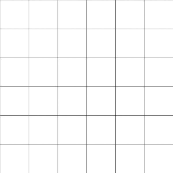 Papier peint intissé motif carreaux noir sur blanc, 8cm - Photo n°1