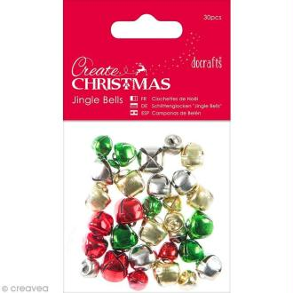 Mini clochettes - Create Christmas - 30 pcs
