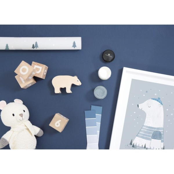 Affiche avec cadre olaf l'ours polaire - Photo n°2