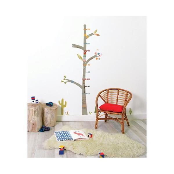 Sticker toise indian tree