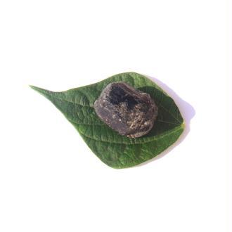 Pierre brute Tourmaline Noire du Brésil 2.7 CM x 2 CM de diamètre max (E)