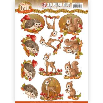 3D Push Out Yvonne Creations Fabulous animals