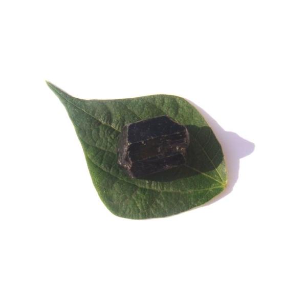 Pierre brute Tourmaline Noire du Brésil 2.5 CM x 1.7 CM de diamètre max (F) - Photo n°1