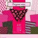 Origami mini - Girly - 240 feuilles de 7,5 x 7,5 cm - Photo n°1
