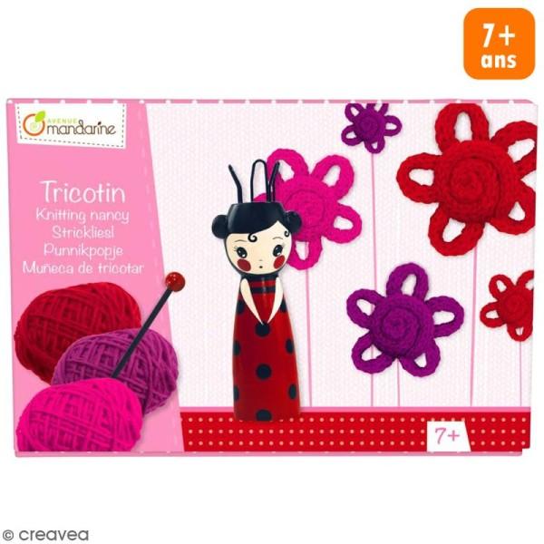Kit tricotin Avenue Mandarine - Geisha - Photo n°1