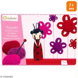 Kit tricotin Avenue Mandarine - Geisha