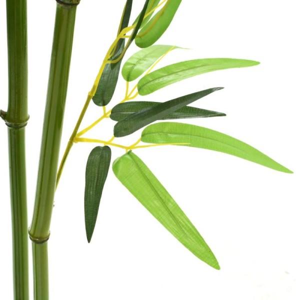 Vidaxl Plante Artificielle Avec Pot Bambou 175 Cm Vert - Photo n°2
