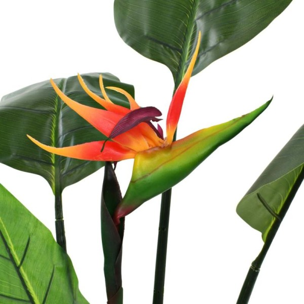 Vidaxl Plante Artificielle Strelitzia Reginae Oiseau De Paradis 155 Cm - Photo n°2