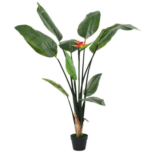 Vidaxl Plante Artificielle Strelitzia Reginae Oiseau De Paradis 155 Cm - Photo n°1