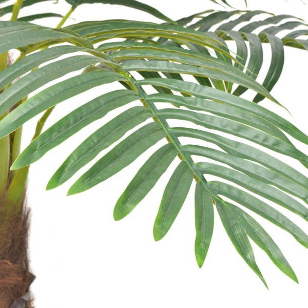 Vidaxl Palmier Artificiel Avec Pot 240 Cm Vert - Photo n°2