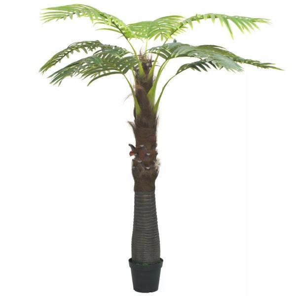 vidaxl palmier artificiel avec pot 240 cm vert fleurs et plantes artificielles creavea. Black Bedroom Furniture Sets. Home Design Ideas