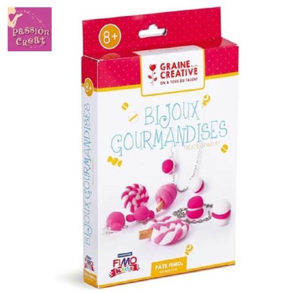 Kit Fimo Kids Bijoux Gourmand A Créer Soi-Même - Photo n°1