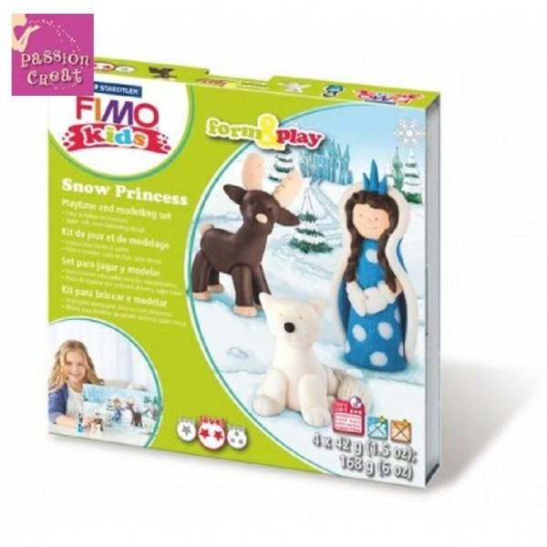 Kit Fimo Kids Princesse Des Neiges - Photo n°1