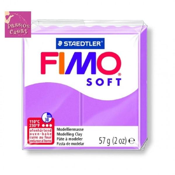 Un Pain De Fimo Soft Lavande N°62 - Photo n°1