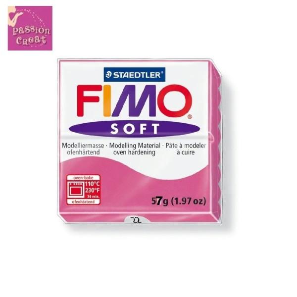 Un Pain De Fimo Soft Framboise N°22 - Photo n°1