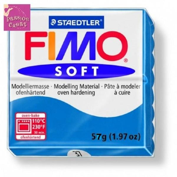 Un Pain De Fimo Soft Bleu Pacifique N°37 - Photo n°1