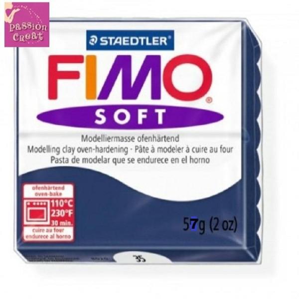 Un Pain De Fimo Soft Bleu Foncé N°35 - Photo n°1