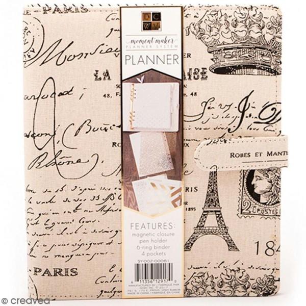 Planner classeur A5 - Paris - Photo n°1