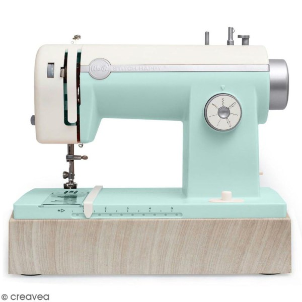 Machine à coudre stitch happy We R Memory Keepers - Menthe - Photo n°1