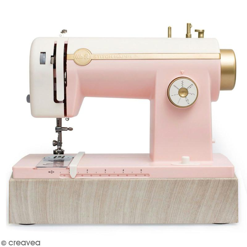 Machine à coudre stitch happy We R Memory Keepers - Rose - Photo n°1