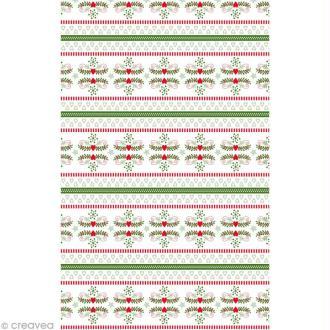 Décopatch Noël 678 - 1 feuille
