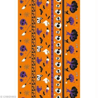 Décopatch Rouge Orange 679 - 1 feuille
