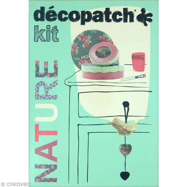 Kit créatif Décopatch - Nature - Guirlande et boîtes - Photo n°1