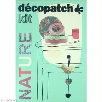 Kit créatif Décopatch - Nature - Guirlande et boîtes