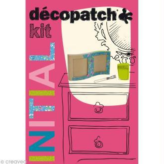 Kit Initial Décopatch - cadre à décorer