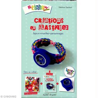 Kit Rainbow Loom - Créations en élastiques - Bijoux, montres et personnages