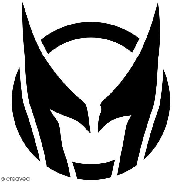 Pochoir multiusage A4 - Logo Griffe - Collection Super Héros - Photo n°3