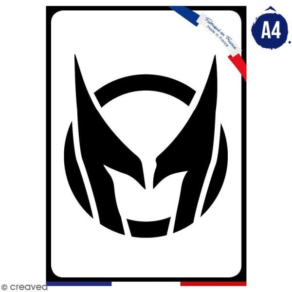 Pochoir multiusage A4 - Logo Griffe - Collection Super Héros - Photo n°1