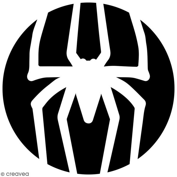 Pochoir multiusage A4 - Logo Homme araignée - Collection Super Héros - Photo n°3