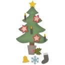 Matrice Sizzix Bigz - Sapin de Noël décoré