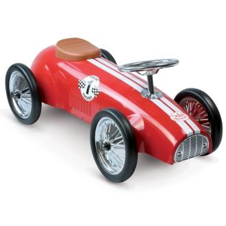 Porteur voiture de course rouge
