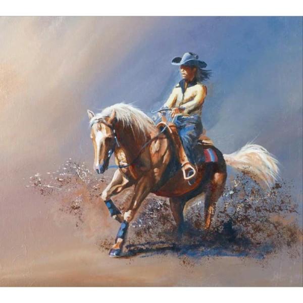 Magic Art n°103 - Peindre les chevaux à l'acrylique - Photo n°2