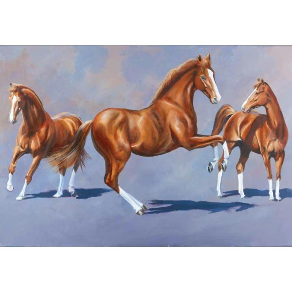 Magic Art n°103 - Peindre les chevaux à l'acrylique - Photo n°3