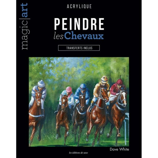 Magic Art n°103 - Peindre les chevaux à l'acrylique - Photo n°1