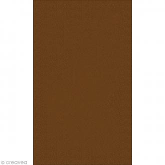 Coupon simili cuir Marron camel - 50 x 30 cm