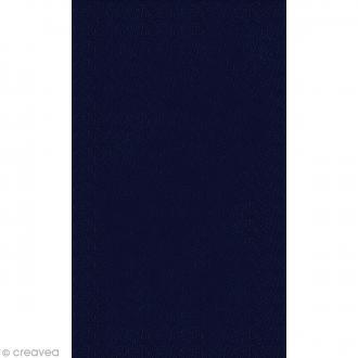 Coupon simili cuir Bleu marine - 50 x 30 cm