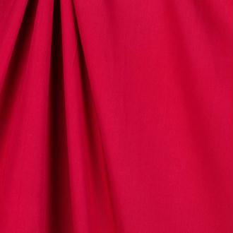 Tissu twill viscose uni - Rouge foncé - A la coupe